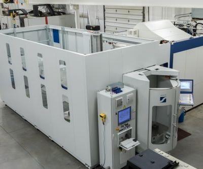 Krieger Craftsmen Grob 550 machining center