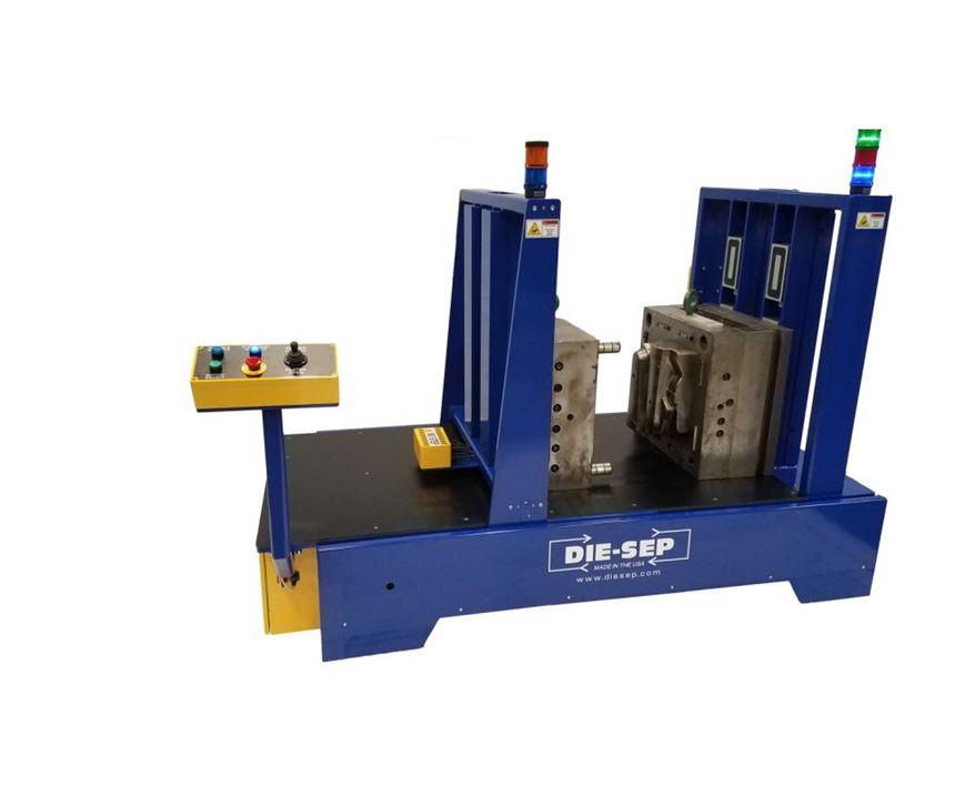 Die-Sep Minuteman mold separator/tipper