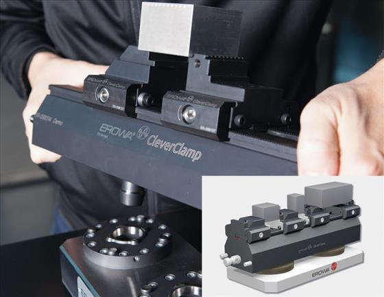 Erow CleverClamp workpiece clamping system
