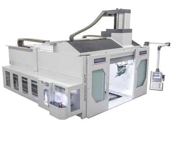 Promac five-axis equipment