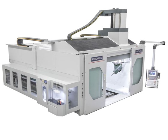 Promac five-axis equipment