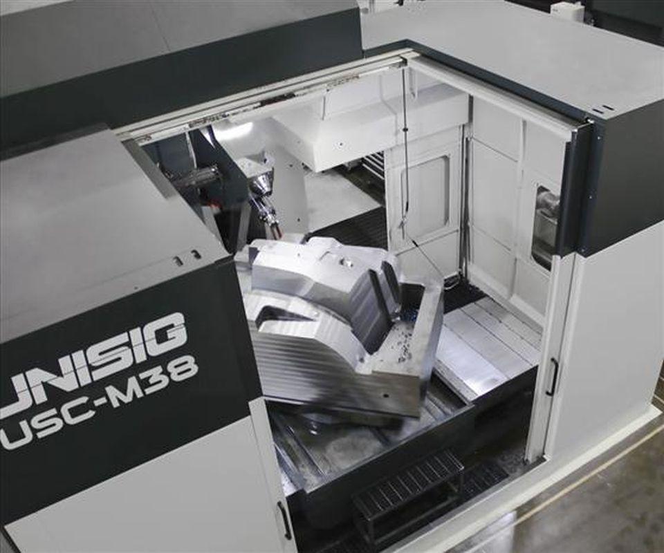 Unisig USC-M deep-hole drilling and milling machine
