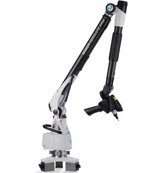 Hexagon Metrology Romer Absolute Arm with integrated RS3 laser scanner
