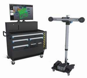 Creaform Shop-Floor Workstation and C-Track shopfloor stand