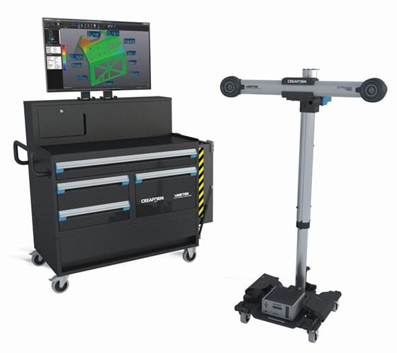 Creaform Shop-Floor Workstation and C-Track shopfloor stand
