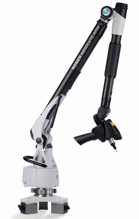 Hexagon Metrology Romer Absolute Arm with RS3 laser scanner