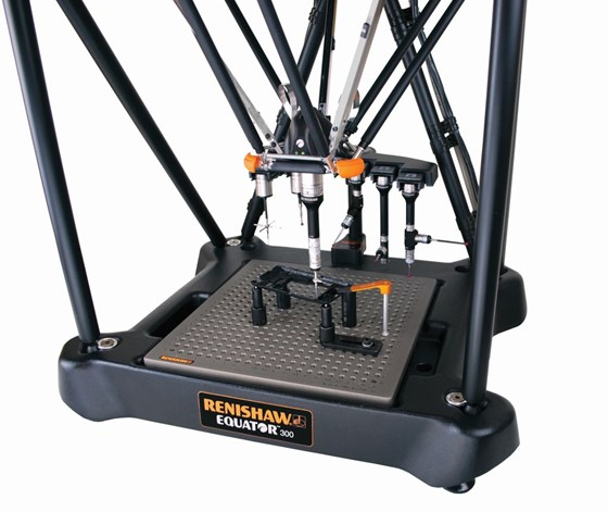 Renishaw Equator comparative gaging system