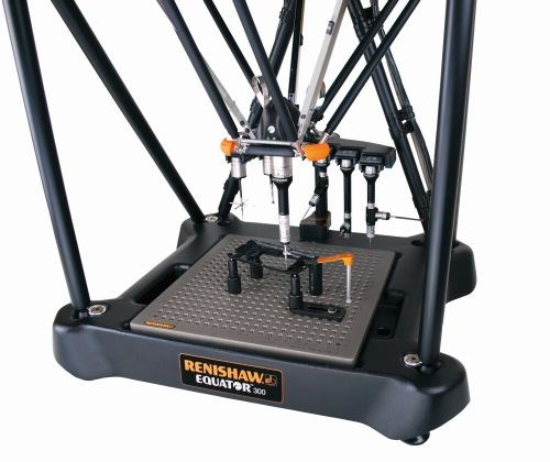 Renishaw Equator comparative gaging system with TP20 touch-trigger probe