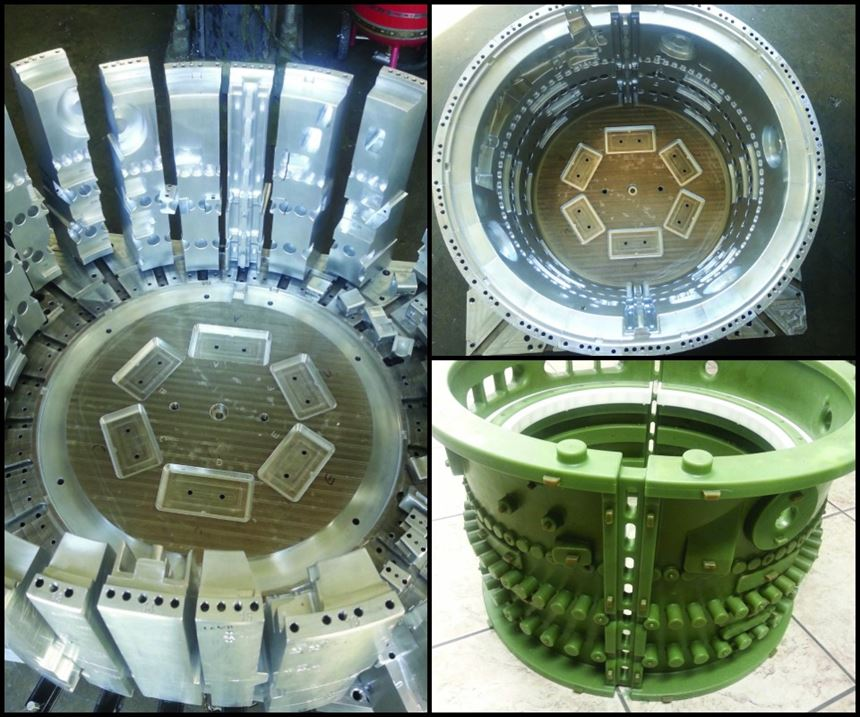 investment casing mold