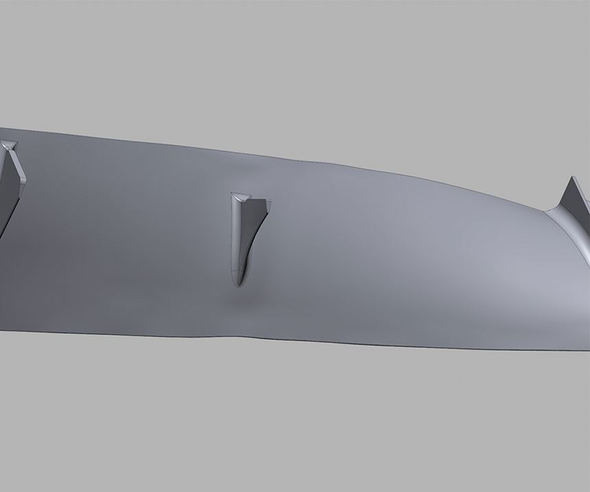Exact Metrology Airfoil