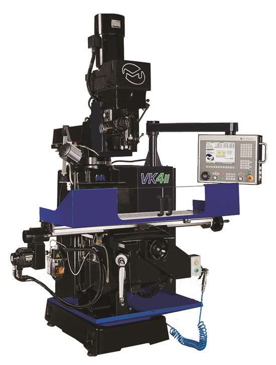 Milltronics USA Inc.'s VK4II CNC knee mill