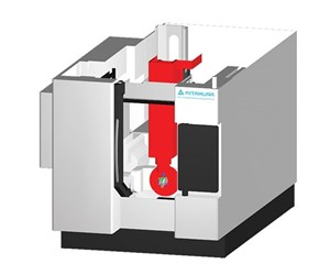 Model of Kitamura five-axis machining center