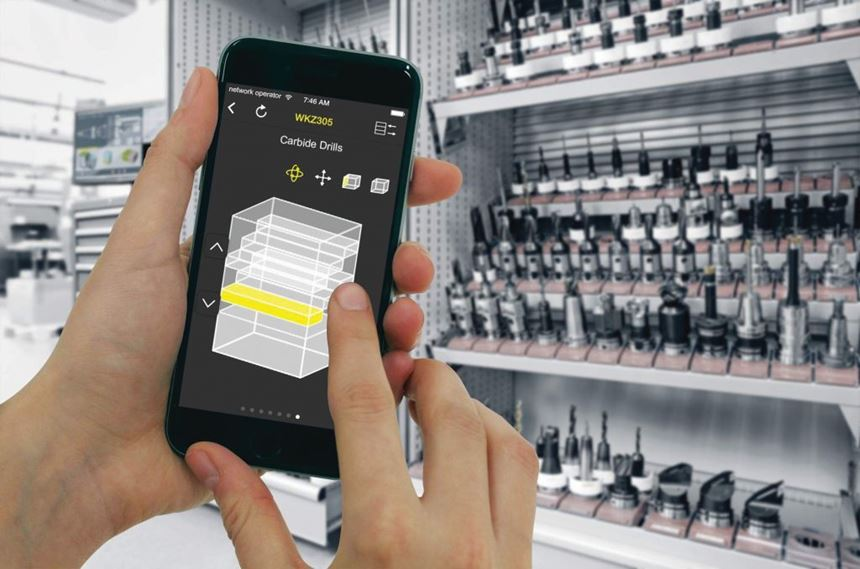 Zoller apps for TMS Tool Management Solutions