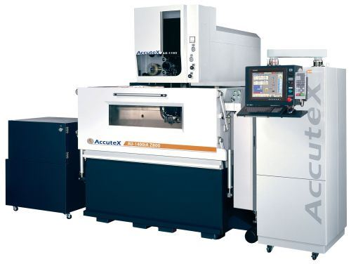 AccuteX AU-1440iA Z800 submerged wire EDM from Absolute Machine Tools