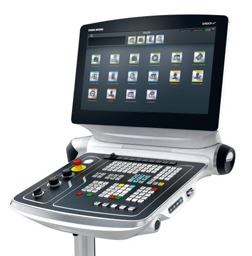 DMG MORI Celos app-based control