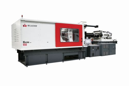Milacron Maxima multi-component injection molding machine