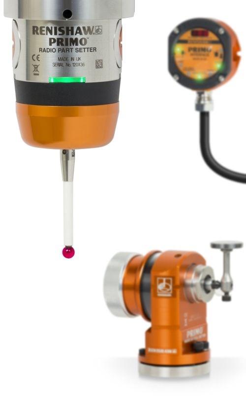 Renishaw machine tool probe system