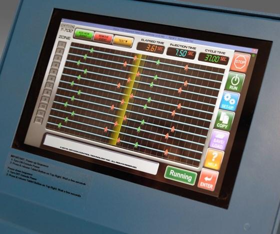 Orycon T-700 sequential valve gate controller