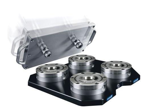Schunk Quick Change Pallet System Features High Retention