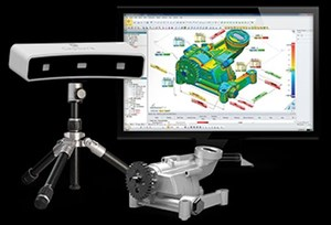3D Systems Geomagic Capture integrated 3D scanner and software system