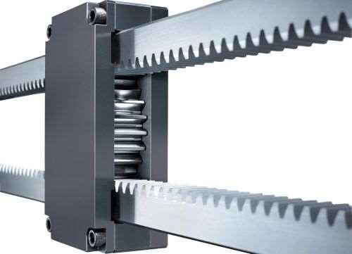 Hasco Z1545 gear housing and Z1547 rack unit