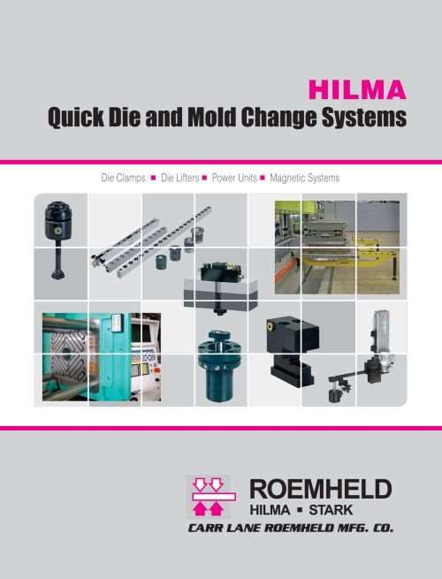 Hilma quick die and mold change catalog