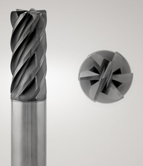 Seco Tool Niagara Cutter S638 and S638R six-flute end mills