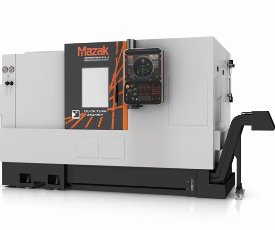 Mazak Quick Turn-250MSY turning center
