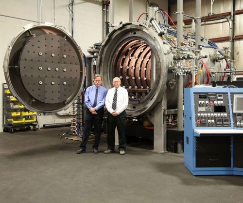 Refrac Systems gas-fan-quench-cooled vacuum hot press