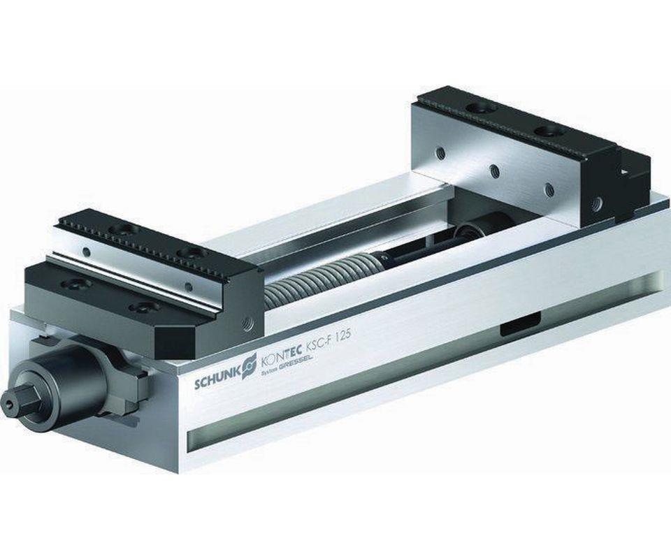 Schunk Kontec KSC-F single-acting clamping vise