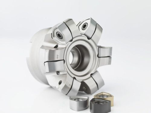 Seco Tools High Feed 6 indexable-insert milling cutter