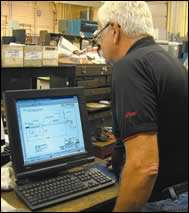 MPT employee Tom Resh