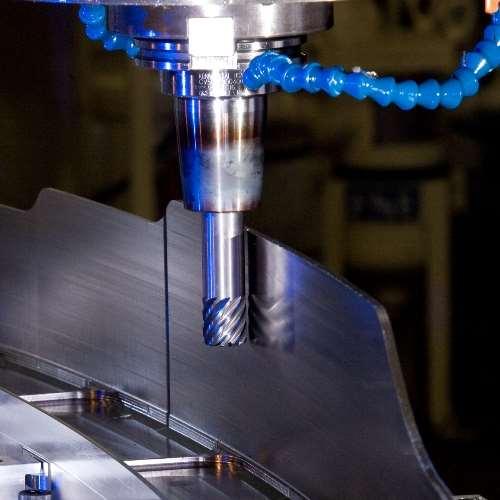 Titanium machining at Boeing St. Louis