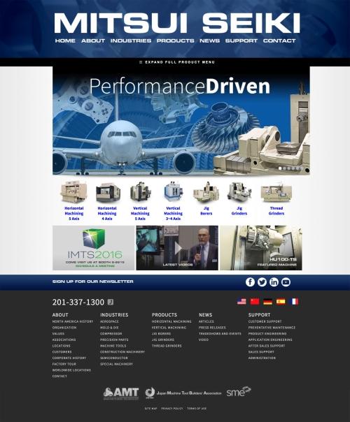 mitsuiseiki.com homepage