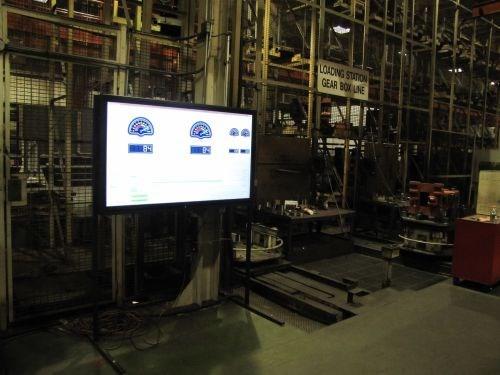 display screen monitoring HMCs displays