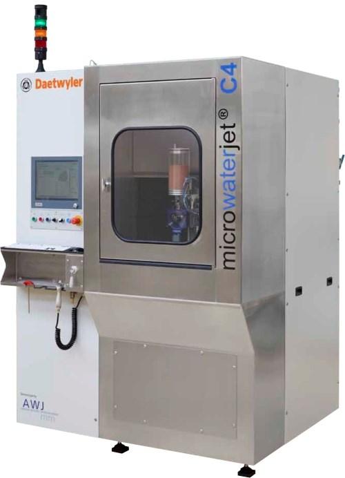 Micro Waterjet C4 machine