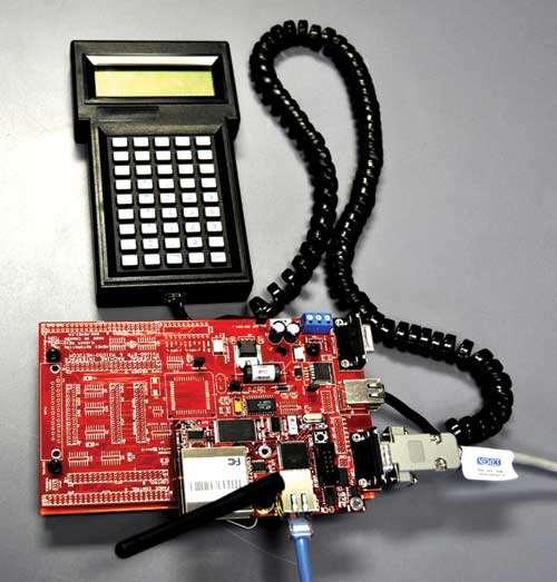 Fanuc 11 control test system