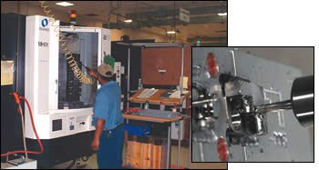 Machine operators are trained to work with a number of different machines
