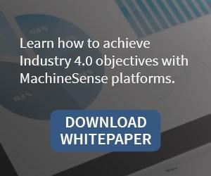 Whitepaper on Industry 4.0, IIoT, data-driven manufacturing, using MachineSense monitoring platforms