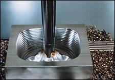 Machining center toolholder