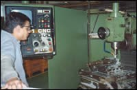 Maho UF-11 CNC milling machine