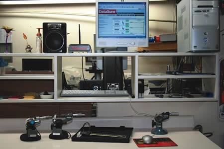 Main DataSure inspection station