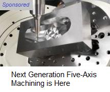 Makino five-axis machining