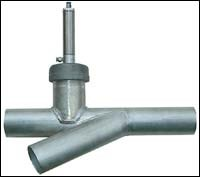 Material plugs on common-line systems