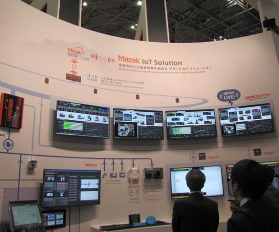 Mazak display at JIMTOF
