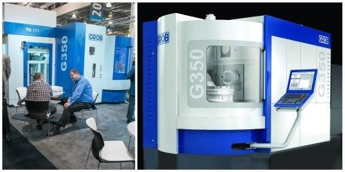 Grob G-series universal machining center