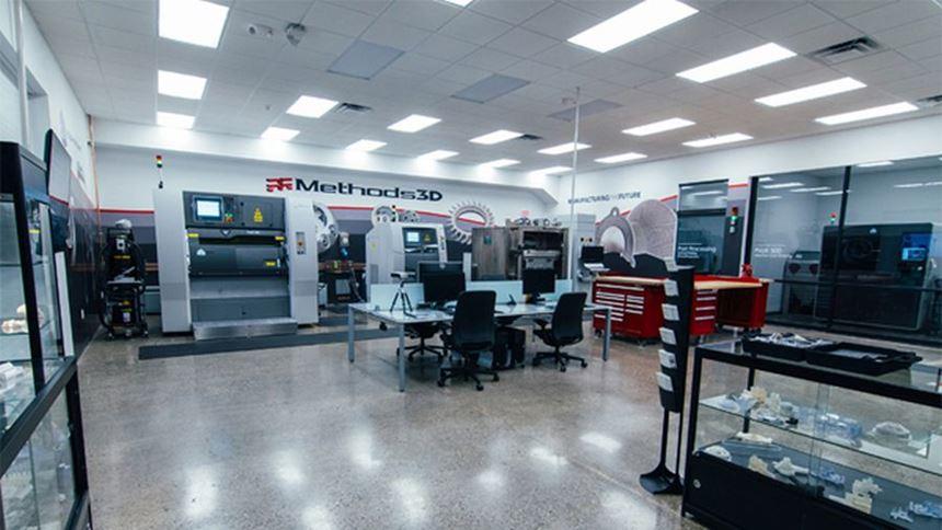 Methods 3D additive manufacturing lab