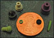 Micro-molded LSR parts