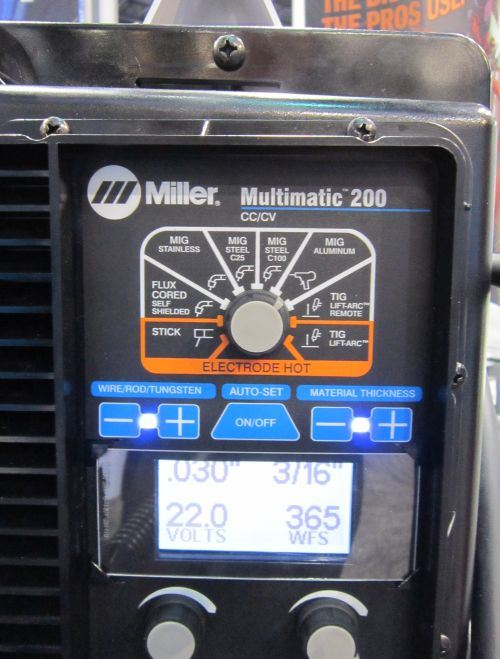 Miller Electric Mfg.'s Multimatic 200