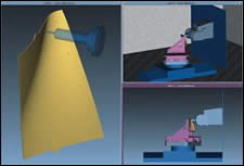 Modeled five-axis machine tool